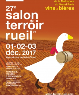 affiche salon du terroir